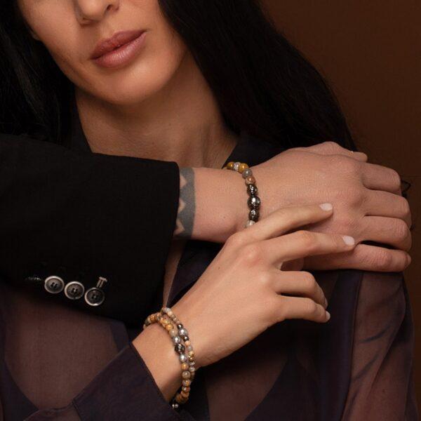 gioielli unisex con perle