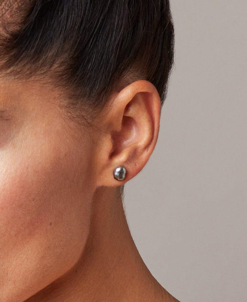 orecchini perle keshi