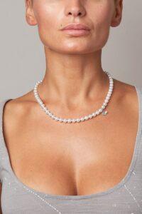 collana con perle Akoya AA