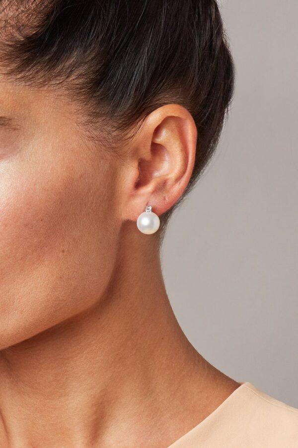 orecchini a lobo con perle mari del sud e diamanti GP_013_I