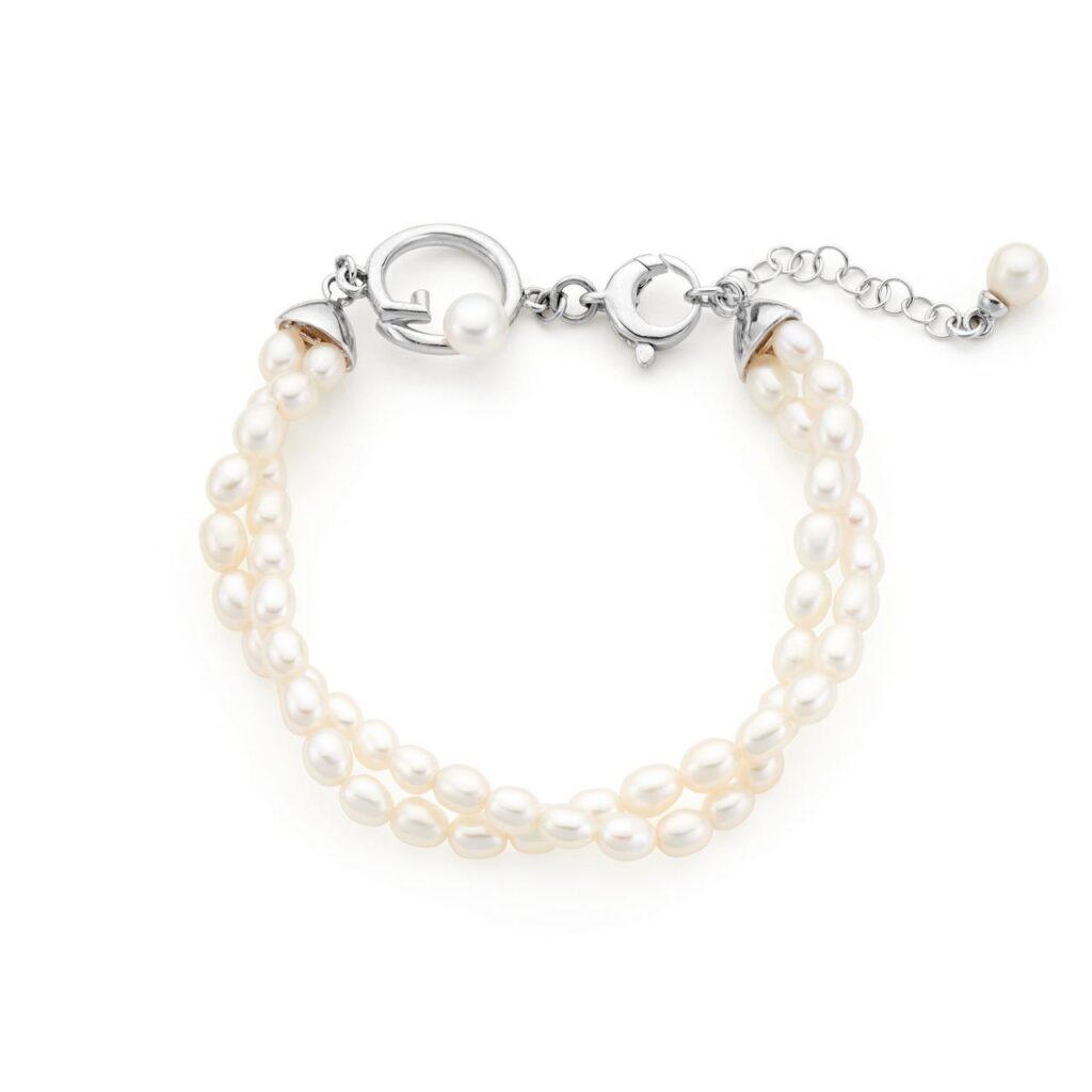Gensi pearls - Bracciale doppio con microperle - GP_063