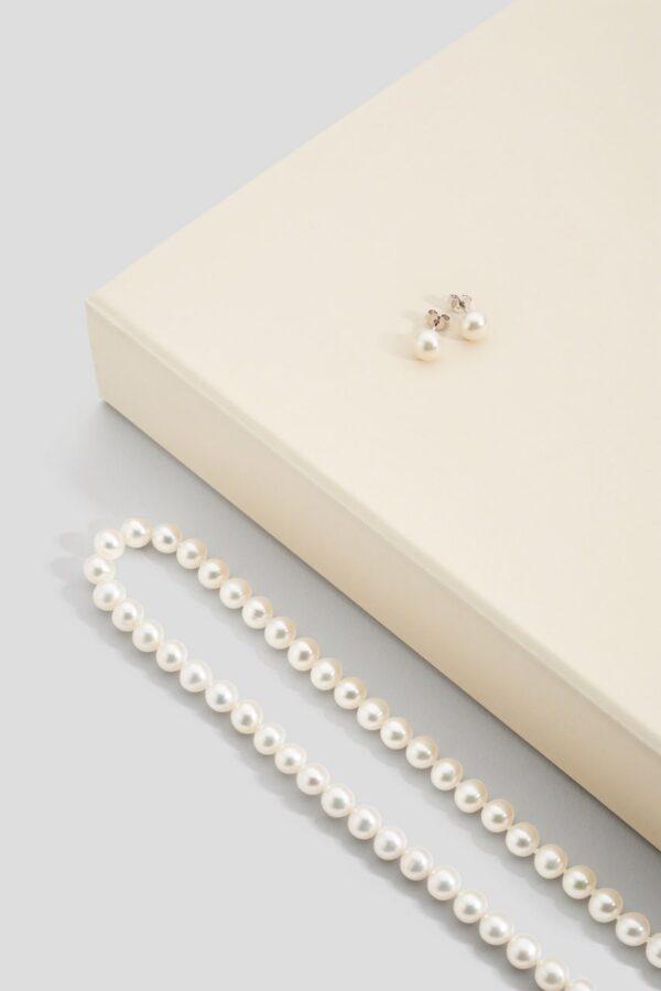 Parure con perle d'acqua dolce A - GP_112