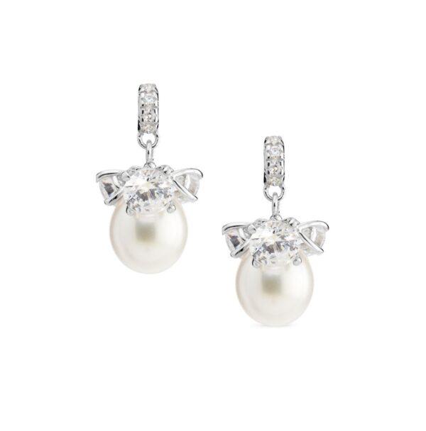 Genisi pearls - Orecchini con perle e Swarovski - GP_174