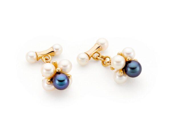 Gemelli da polso da donna con microperle_Genisi Pearls