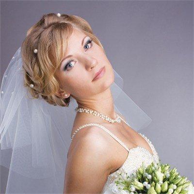 sposa con perle