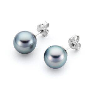 Genisi pearls - orecchini a lobo con perle Tahiti - GP_004