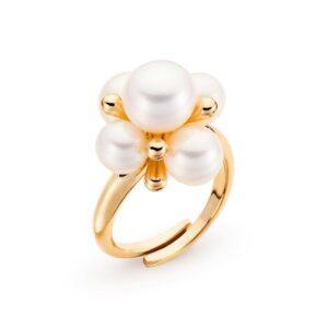anello perle acqua dolce