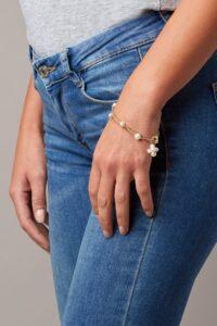 bracciale di perle linea Flora