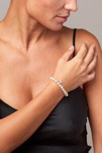 bracciale perle Akoya