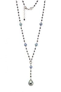 rosario con perle di tahiti