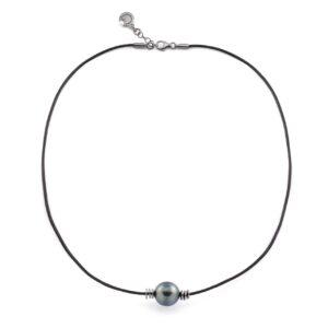 collana con perla Tahiti Unisex